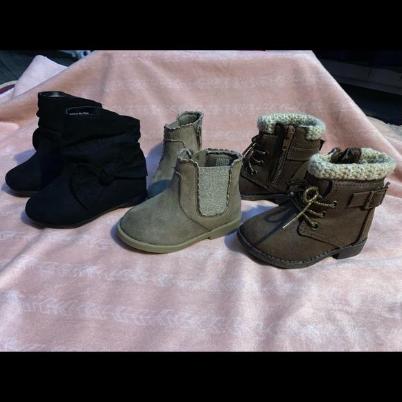 Other - Baby girl boots bundle!